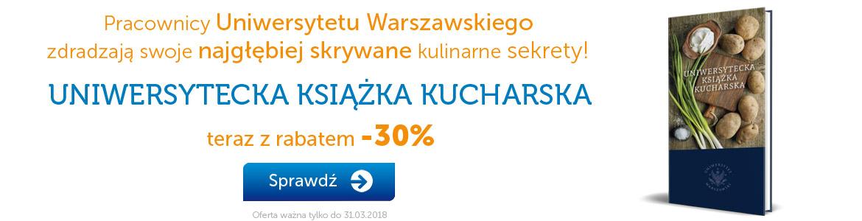 Książka kucharska UW -30%