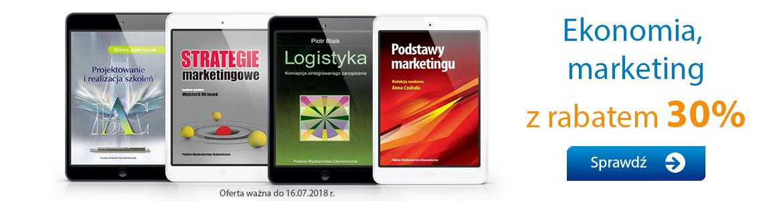Ekonomia, marketing - Ebooki PWE -30%