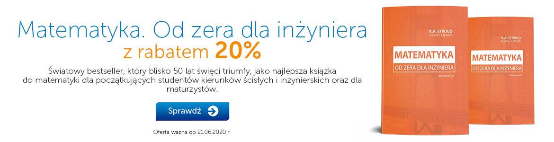 Matematyka od zera teraz -20% »