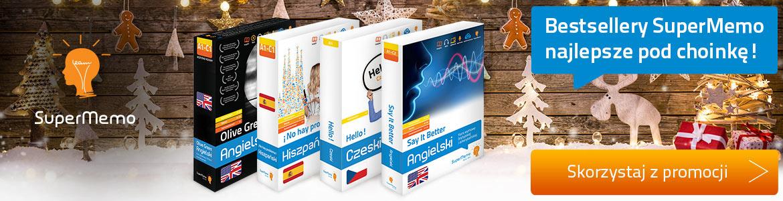 Kursy językowe SuperMemo na prezent