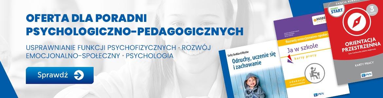Oferta dla poradni psychologiczno-pedagogicznych