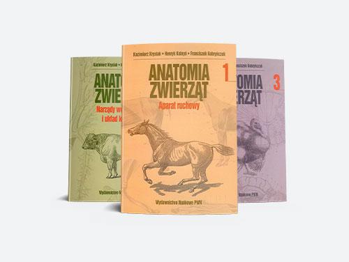 Anatomia zwierząt Tomy 1-3