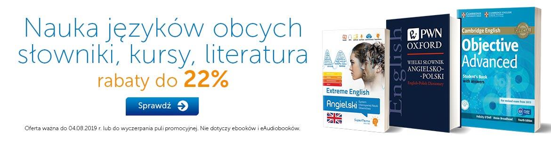Nauka języków do -22%