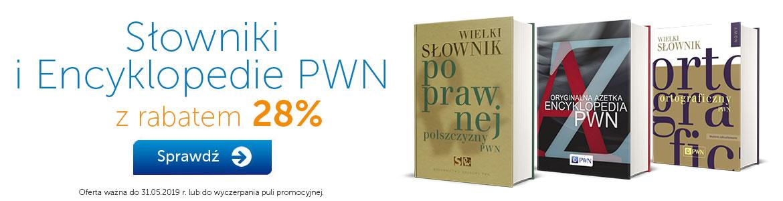 Słowniki i encyklopedie PWN -28%