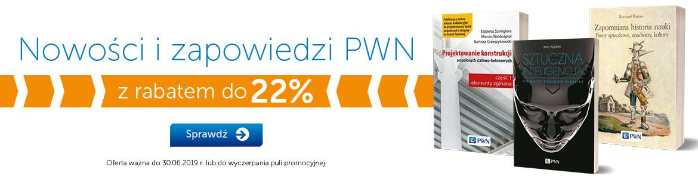 Nowości PWN -22%