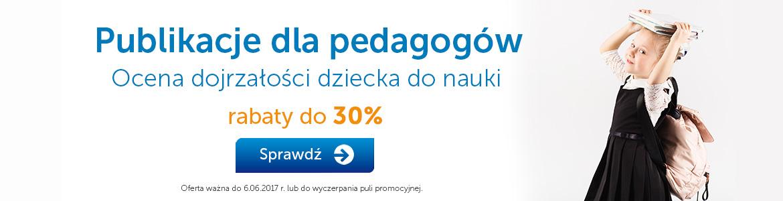 Publikacje dla pedagogów do -30%