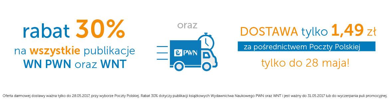 cały PWN i WNT -30% i tania dostawa