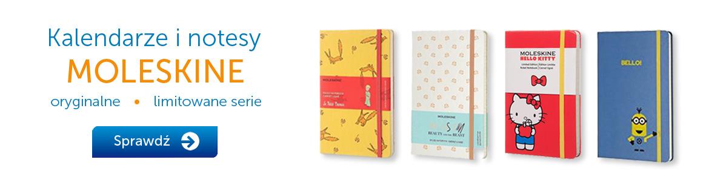 Oryginalne kalendarze i notesy Moleskine