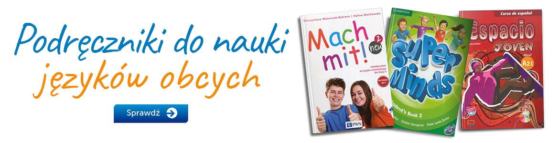 Podręczniki szkolne do nauki języków