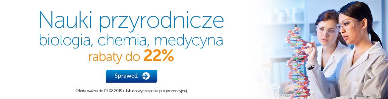 Nauki przyrodnicze i medyczne do -22%