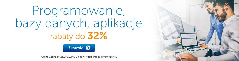 Programowanie, aplikacje do -22% »