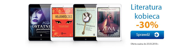 Literatura kobieca, romans -30%