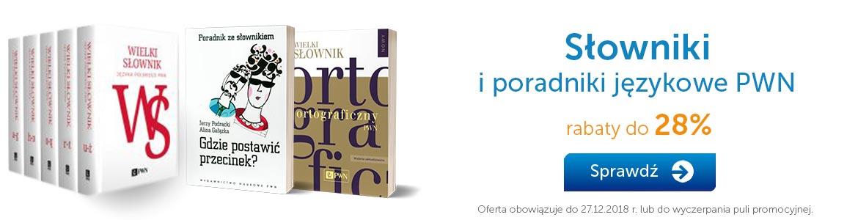 Bestsellerowe słowniki PWN »