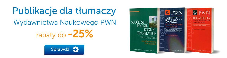 Publikacje dla tłumaczy -30%