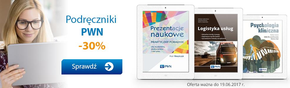 Podręczniki PWN -30%
